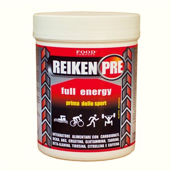 PRE WORKOUT-ENERGIA-REIKEN PRE: Pre workout, energia prima dello sport, pre-gara o pre-allenamento 750gr