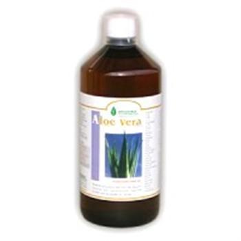 Salute-ALOE VERA: 3 bottiglie di succo di aloe vera disintossicante e immunostimolante-1 litro