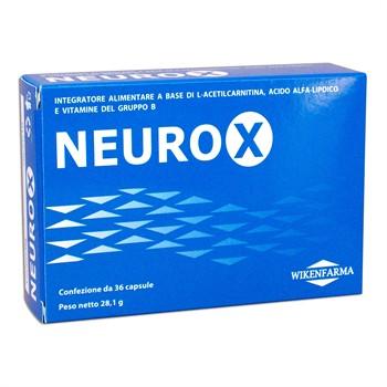 LINEA WIKENFARMA-NEUROX: Acido Alfa Lipoico ed L-Acetilcarnitina per le neuropatie periferiche 36cps