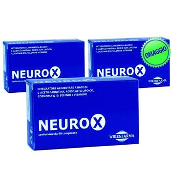 LINEA WIKENFARMA-NEUROX 2 CONF+1 OMAGGIO: Acido Alfa Lipoico ed L-Acetilcarnitina per le neuropatie periferiche 36cps