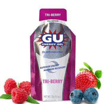 Carbogel Monodose-12 GU ENERGY GEL: Carboidrati Gel Monodose+Caffeina