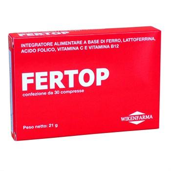 LINEA WIKENFARMA-FERTOP: ferro pirofosfato microincapsulato ben tollerato