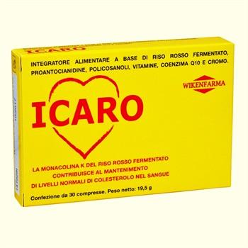 LINEA WIKENFARMA-ICARO: riso rosso fermentato ed antiossidanti per il controllo del colesterolo