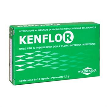 LINEA WIKENFARMA-2 CONFEZIONI KENFLOR: probiotici, probiotici e vitamine-antidiarroico