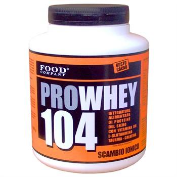Whey Scambio Ionico Rapide-ProWhey 104: Proteine whey del Siero a Scambio Ionico Isolate-800gr