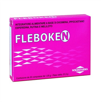 LINEA WIKENFARMA-FLEBOKEN: contro la cellulite, ritenzione idrica, stasi e insufficienza venosa