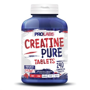 CREATINA COMPRESSE-CREATINE PURE TABLETS: 240 COMPRESSE da 1gr DI CREATINA PURA