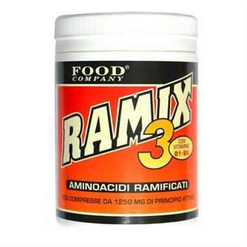 Ramificati-BCAA Compresse-Ramix 3: Aminoacidi Ramificati BCAA-200cpr-270gr