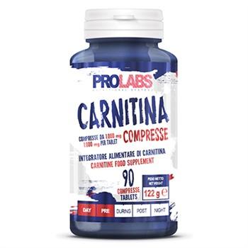 Carnitina-Carnitina pura: 90cpr da 1000mg
