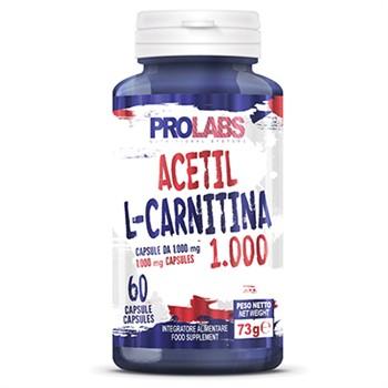 Carnitina-ACETIL L-CARNITINA: 1000mg di L'Acetil Carnitina