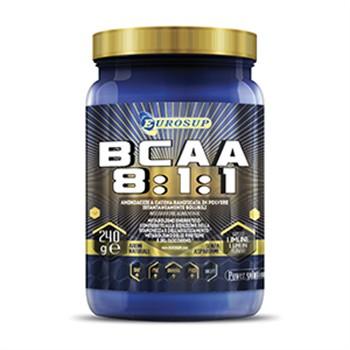 Ramificati-BCAA Polvere-BCAA 8:1:1 polvere 240 g limone Aminoacidi+B1 B6