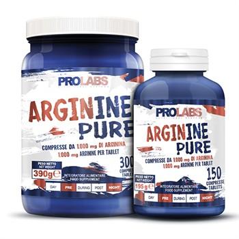 Arginina e Ornitina-Arginine pure 1000mg di Arginina per compressa
