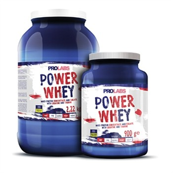 Whey Protein Isolate Rapide-3 x POWER WHEY 900gr: Proteine whey isolate e concentrate Biscotto Cookie