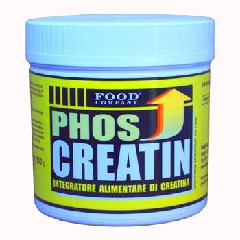 Creatina polvere pura-PHOS CREATIN: Creatina Monoidrata Polvere Pura-500gr