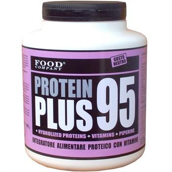 Siero Latte Uovo Graduali-PROTEIN PLUS 95: Proteine latte siero uovo peptidi assorbimento graduale-800 gr
