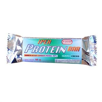 IPERPROTEICHE AL 40%-10 IPERPROTEIN BAR: barrette iper proteiche al 40% da 50gr