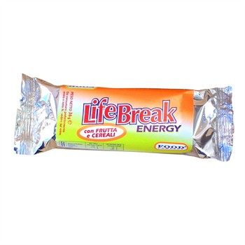CARBO ENERGETICHE-LIFE BREAK ENERGY: 10 barrette carbo energetiche