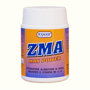 Stimolanti Anabolici-ZMA TESTO MASS: Zinco, Magnesio e Vitamine-100 cps