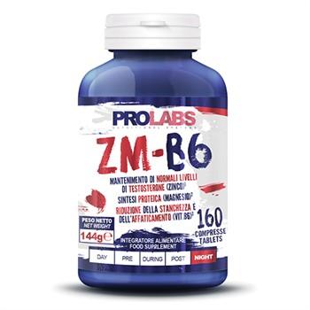 Stimolanti Anabolici-ZM-B6 160 cpr: zinco, magnesio e B6